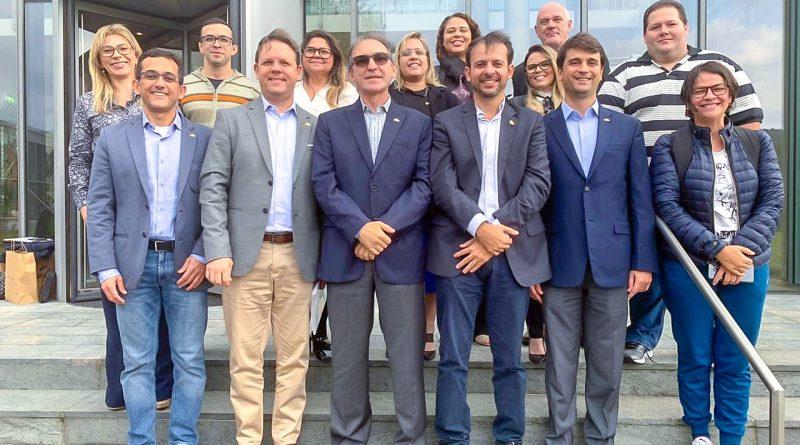 """Marcelo Queiroz lidera delegação técnica na Alemanha em treinamento sobre """"Certificação por Competência"""""""